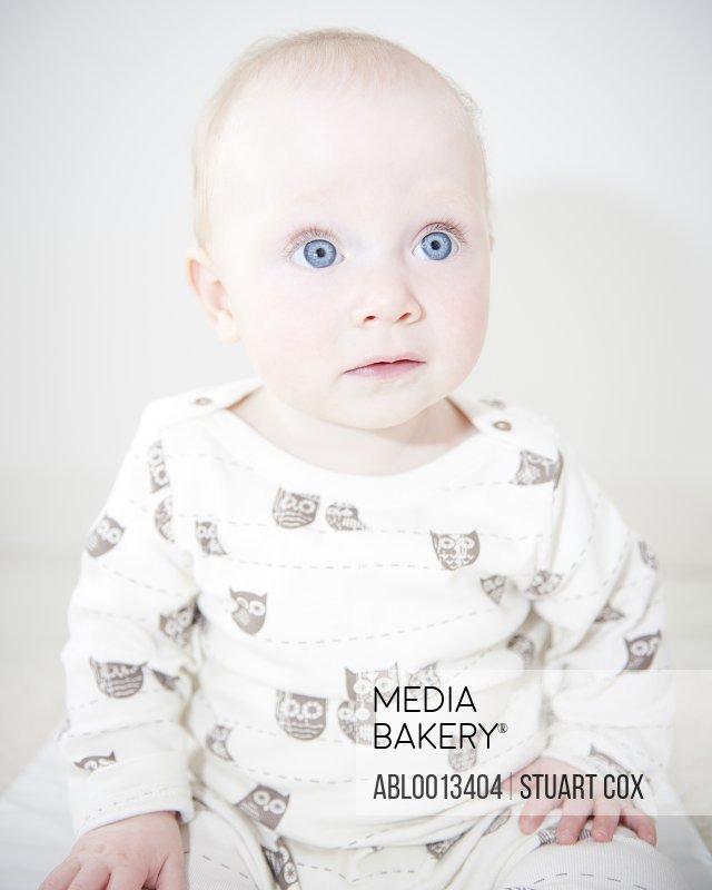 Wide Eyed Baby Girl