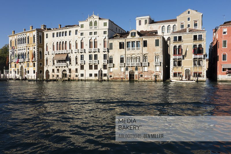 Buildings on Grand Canal, Venice, Italy