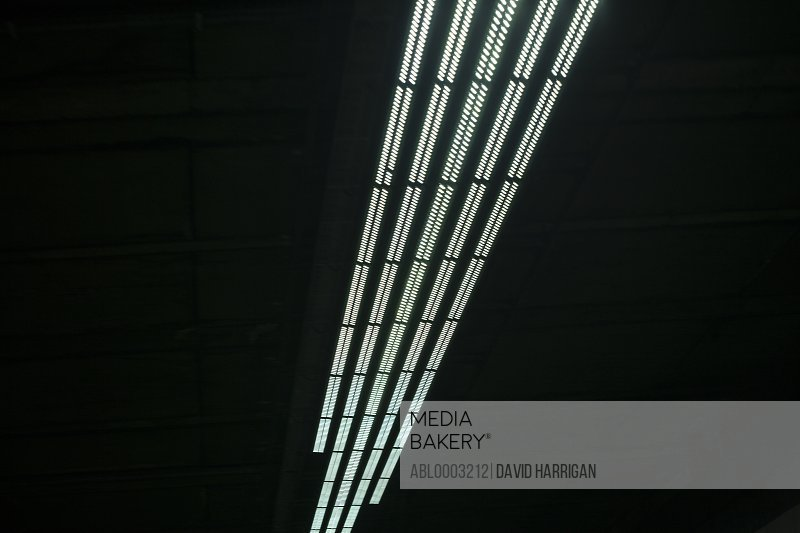Tunnel Lights, Close-up view, Low angle view