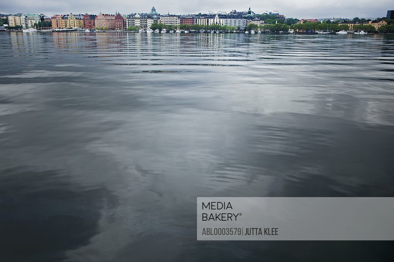 Water Surface and Buildings, Stockholm, Sweden