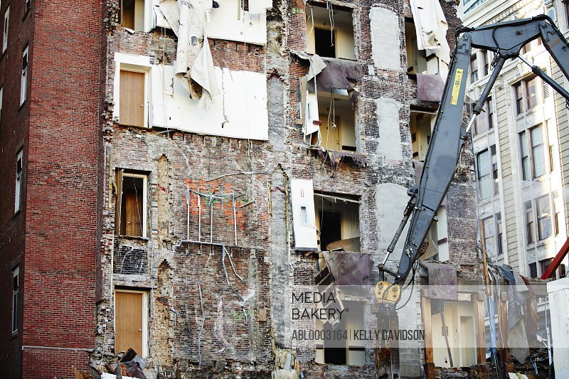 Demolition of Residential Apartment Block