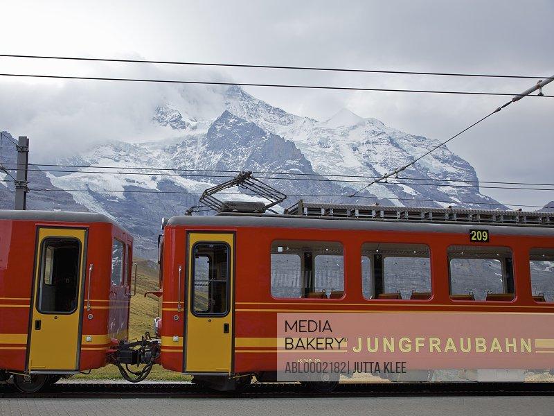 Jungfraubahn Mountain Train and Bernese Alps