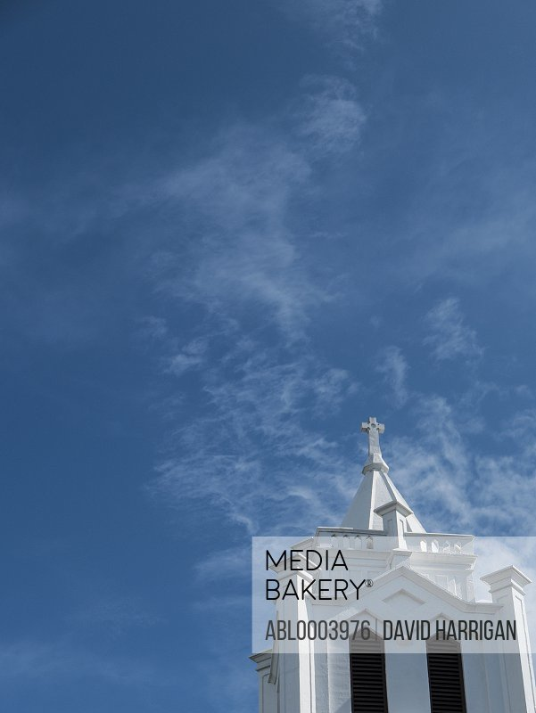 Detail of St. Paul's Episcopal Church, Key West, Florida, USA