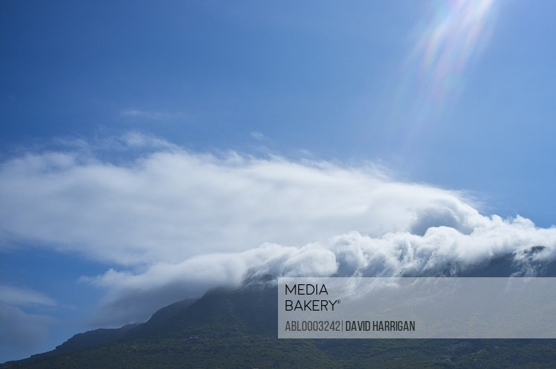Cloud Formation over Mountain, Cape Town, South Africa