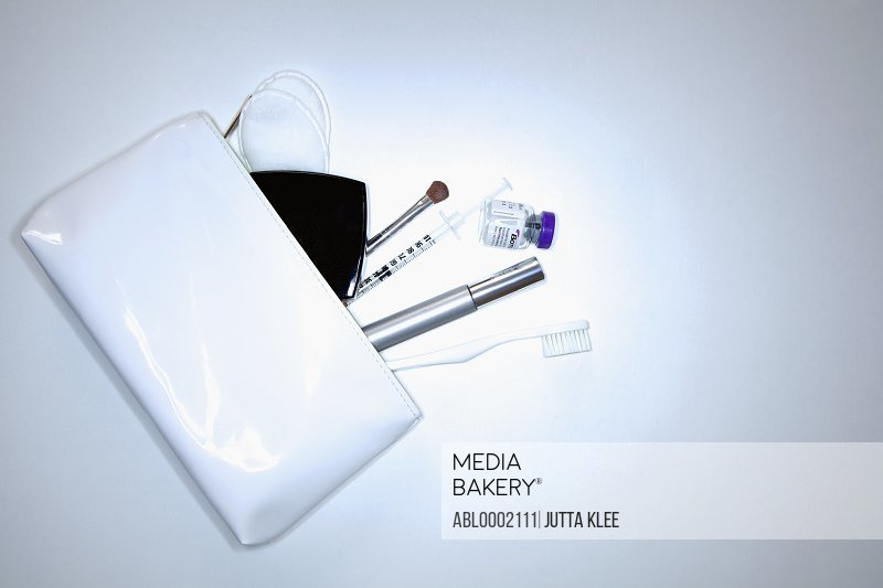 White Purse and its Contents