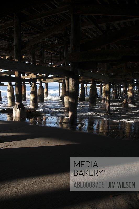 View Underneath Pier