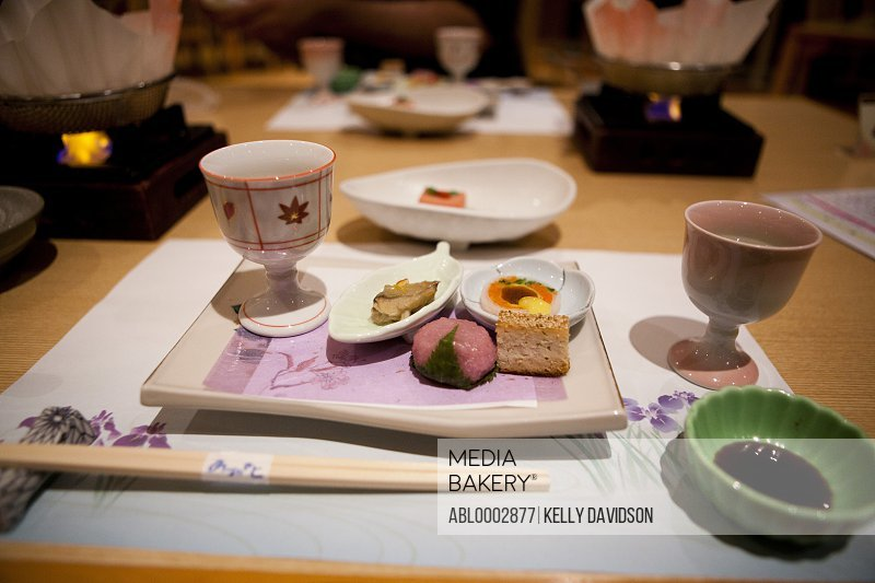 Place Setting for Sushi