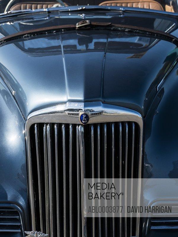 Vintage Car Bonnet