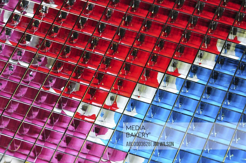 Multicoloured Building Exterior, London, England