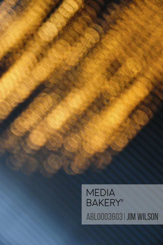 Blurred Orange Lights, Close-up view