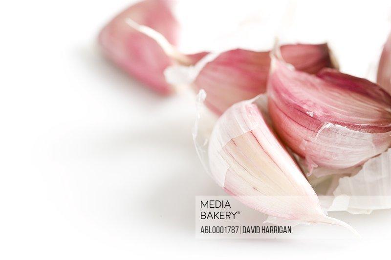 Close up of a garlic cloves