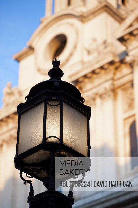 Ornate Lamp Post, London, England, UK