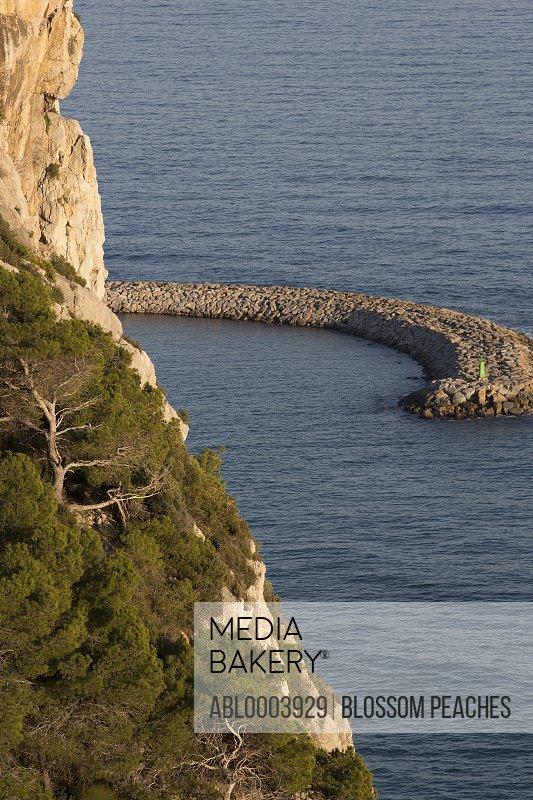 Ocean View with Breakwater