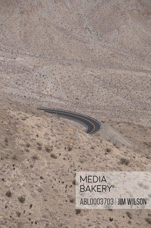 Desert Road Bend, Palm Springs, California
