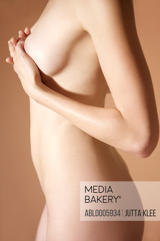 Close up of a nude woman