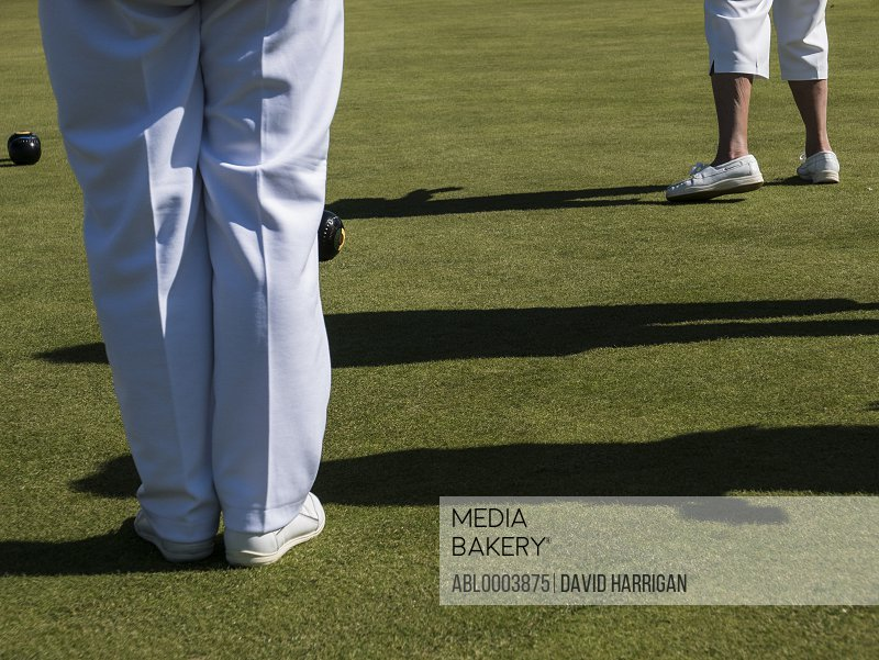 Flat Lawn Bowls Players, Low Section