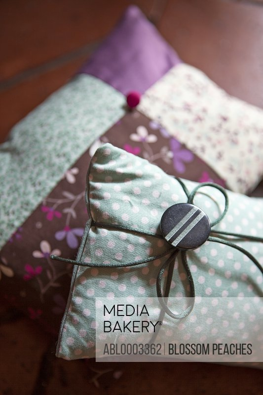 Two Colourful Cushions