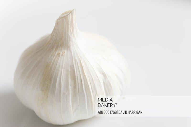 Close up of a garlic bulb