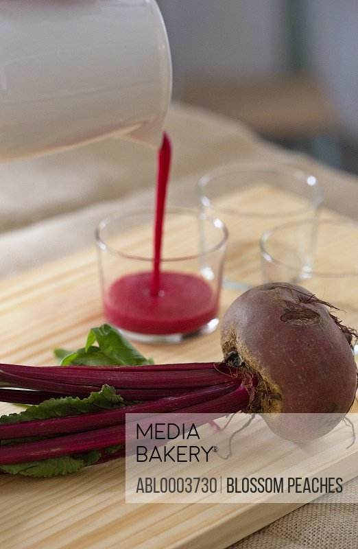 Red Beet and Beetroot Juice