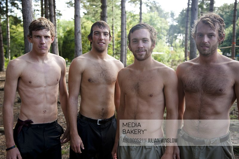 Mediabakery - Photo by Ableimages RM - Young men standing in
