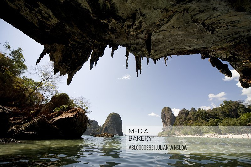 Cave In Railay Beach Thailand