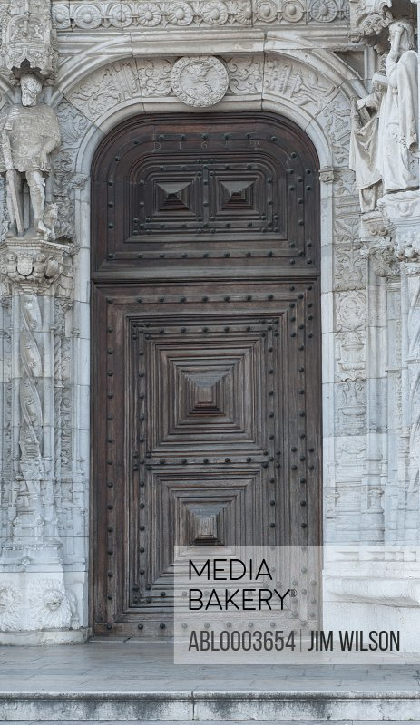 South Portal, Jeronimos Monastery, Lisbon, Portugal