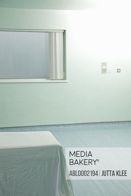 Empty Hospital Examination Room