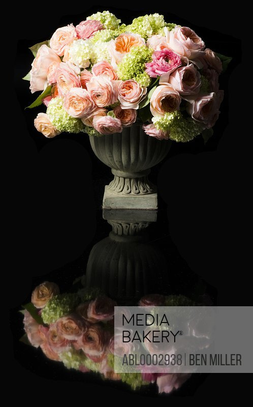 Bouquet of Flowers in Urn