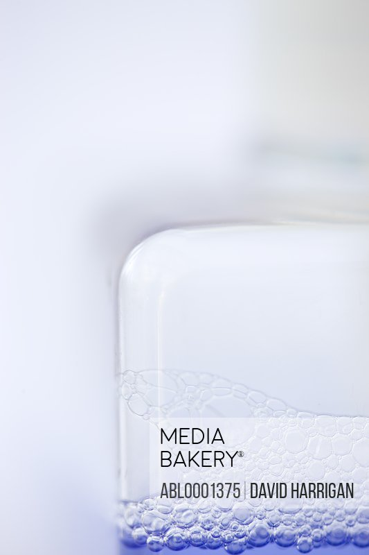 Close up of a liquid soap dispenser