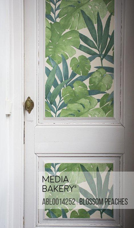 Home Interior, Decorated Door