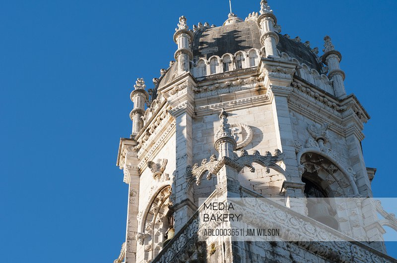 Jeronimos Monastery Bell Tower, Lisbon, Portugal