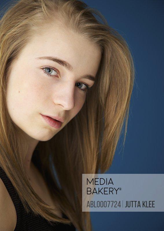 Close up Portrait of Teenage Girl
