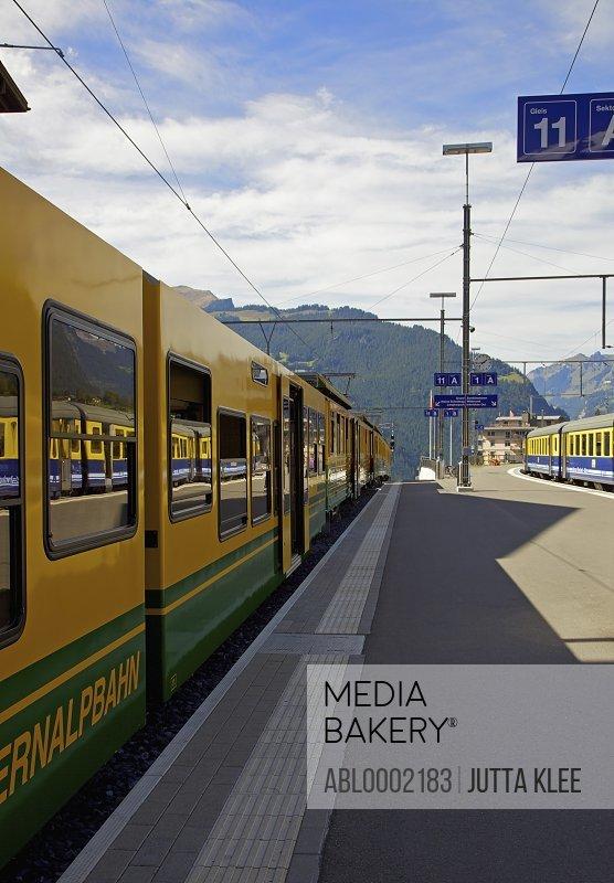 Grindelwald Train Station, Switzerland