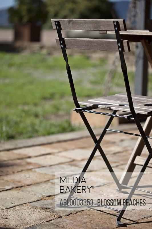 Garden Chair, Close-up View