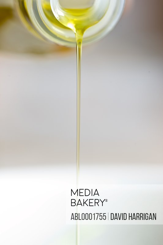 Olive oil drizzle