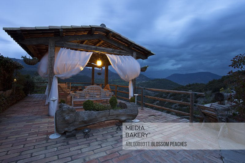 Veranda with View over Countryside