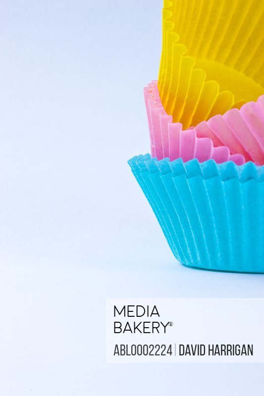 Assorted Colors Cake Cases