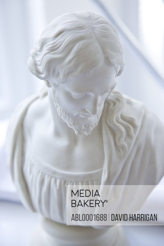 Marble bust of Jesus Christ