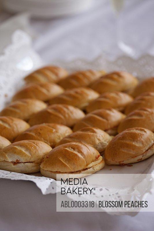 Mini Sandwiches, Close-up View