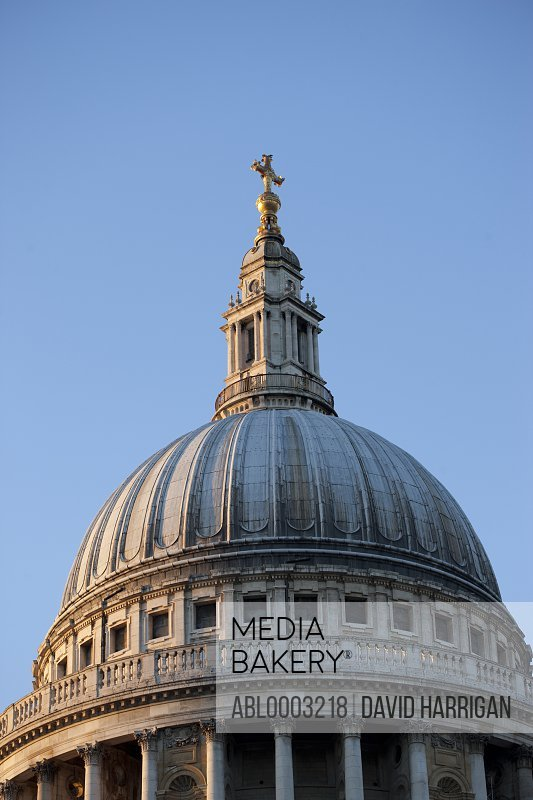 Dome of St. Paul's Cathedral, London, England, UK