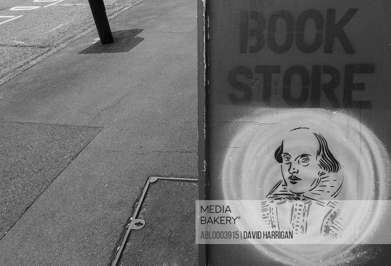 Shakespeare Bookstore Sign