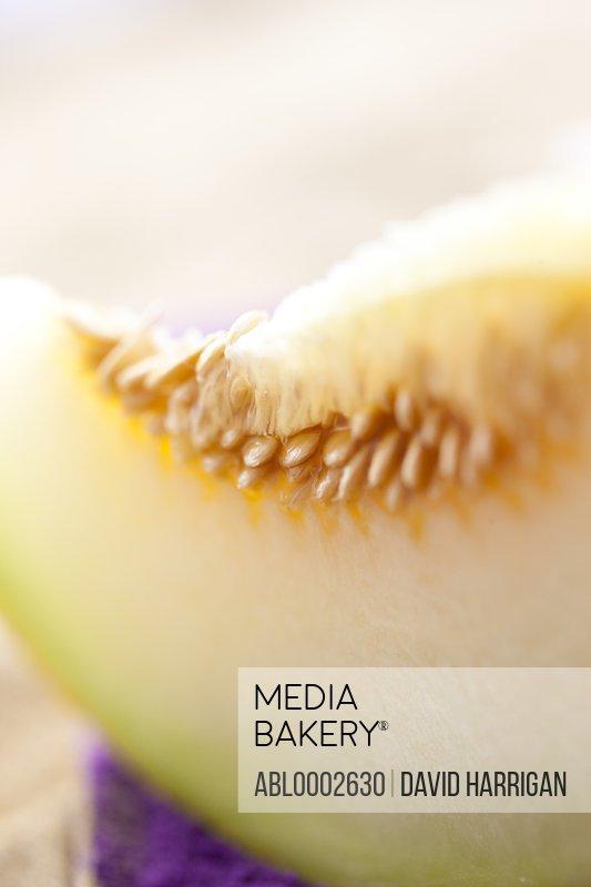 Close up of Melon Slice