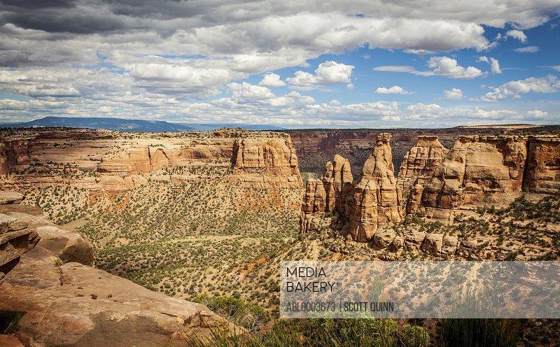 Canyons, Colorado National Park, USA