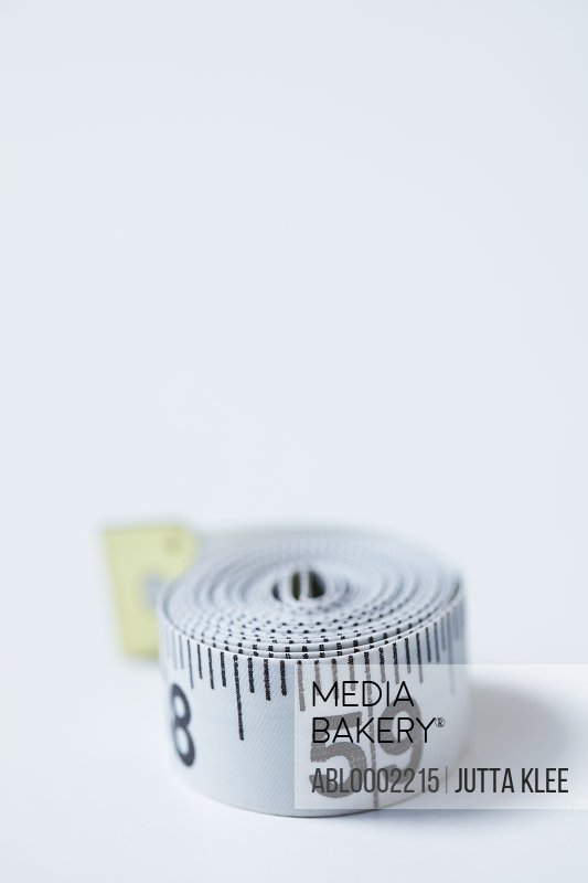 Rolled up Measuring tape