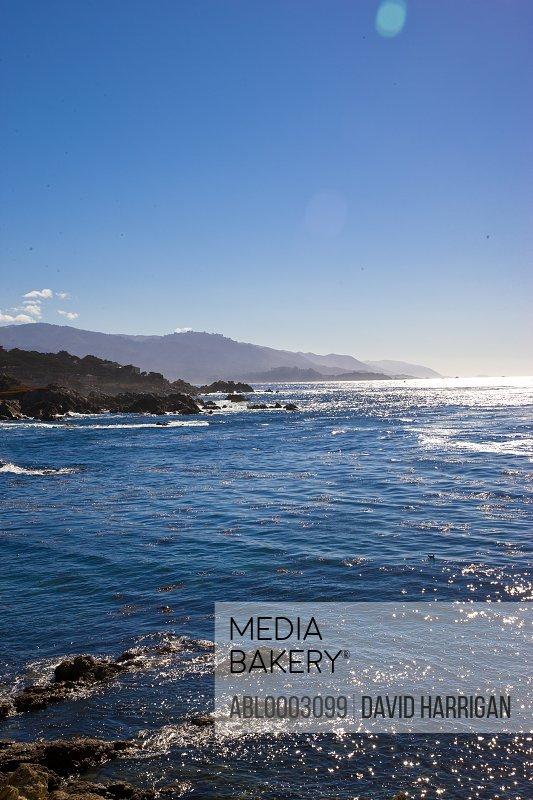 Pacific Coastline along Monterey Peninsula, California, USA