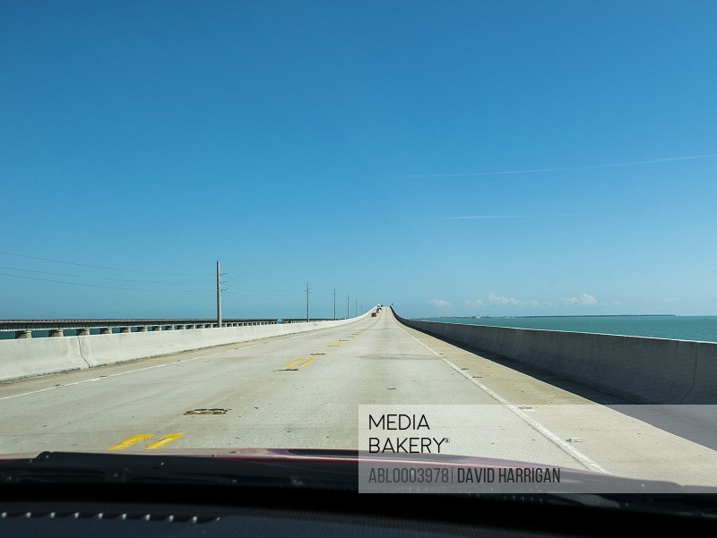 Seven Mile Bridge, U.S. Highway 1, Florida, USA