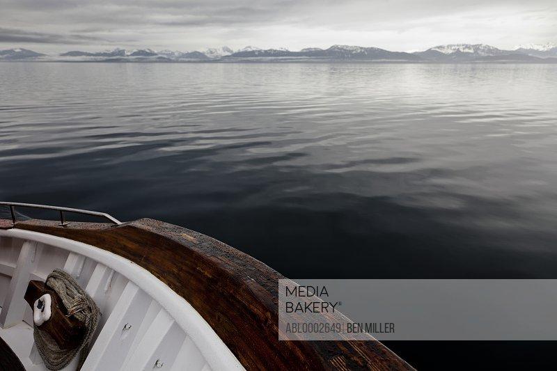 Mountain Landscape seen from Boat