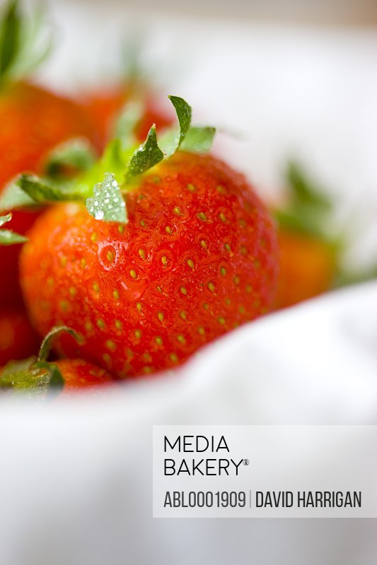 Close up of strawberries