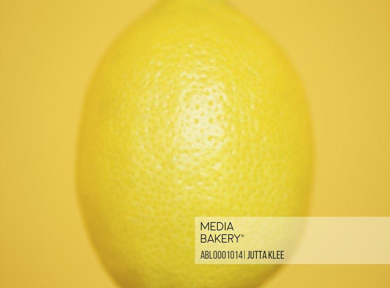 Close up of a lemon