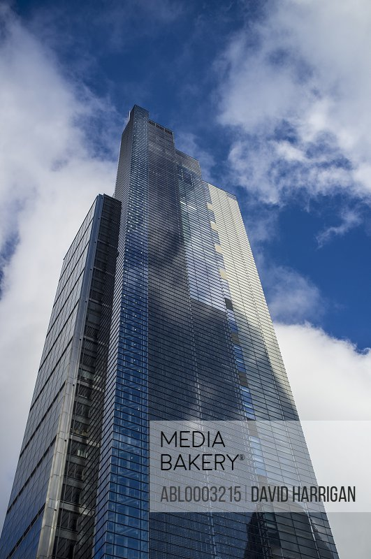 Heron Tower, London, England, UK, Low angle view